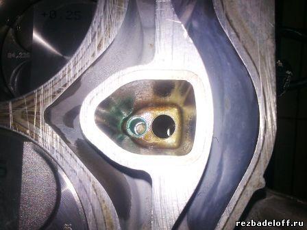 Сорвана резьба в блоке. Восстановление резьбы в алюминиевом блоке цилиндров.